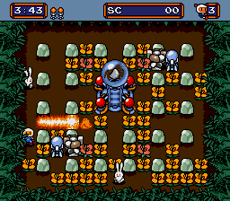 Mega Bomberman (SMD)  © Hudson 1994   2/3