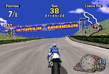 Manx TT SuperBike (SS)  © Sega 1997   5/6