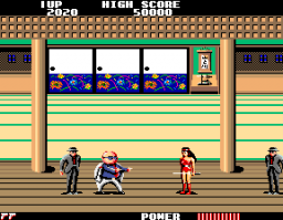 Flashgal (ARC)  © Sega 1985   3/4