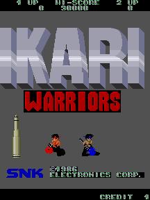 Ikari Warriors (ARC)  © SNK 1986   1/3