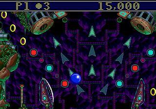 Sonic Spinball (SMD)  © Sega 1993   4/4