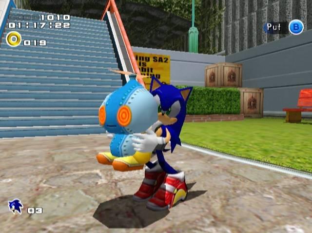 Sonic Adventure 2 (DC)  © Sega 2001   11/14