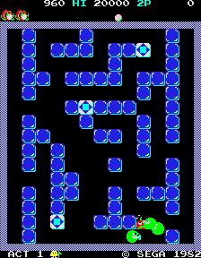 Pengo (ARC)  © Sega 1982   3/3