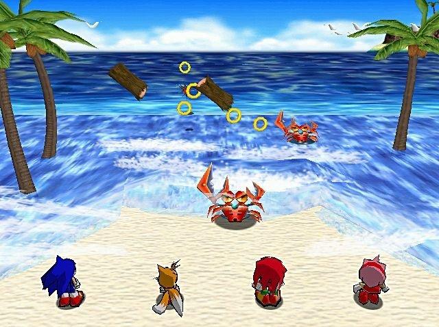 Sonic Shuffle (DC)  © Sega 2000   4/4