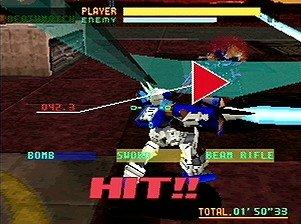 Virtual On: Cyber Troopers (SS)  © Sega 1996   5/6