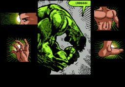 The Incredible Hulk (SMD)  © U.S. Gold 1994   2/4