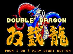 Double Dragon (SMS)  © Sega 1988   1/3
