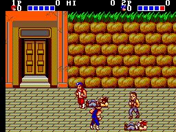 Double Dragon (SMS)  © Sega 1988   3/3