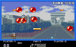 Pang (ARC)  © Capcom 1989   3/5