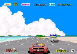 Out Run (ARC)  © Sega 1986   2/4