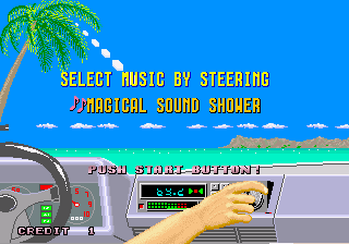 Out Run (ARC)  © Sega 1986   4/4