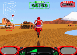 Moto Frenzy (ARC)  © Atari Games 1992   3/3