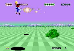 Space Harrier (ARC)  © Sega 1985   4/7