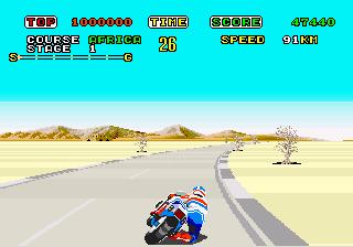 Super Hang-On  © Sega 1987  (ARC)   2/3