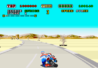 Super Hang-On  © Sega 1987  (ARC)   3/3