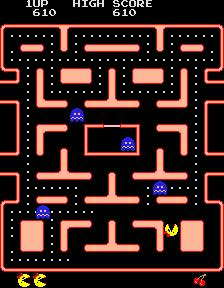 Ms. Pac-Man (ARC)  © Bally Midway 1981   2/4