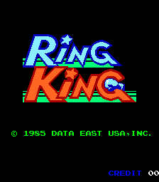 Ring King (ARC)  © Wood Place 1985   1/4