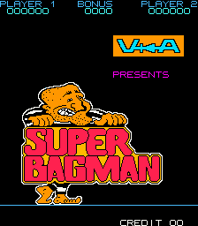 Super Bagman (ARC)   © Stern 1984    1/3