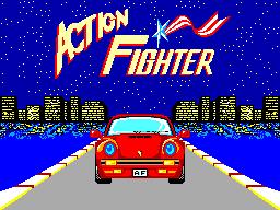Action Fighter (SMS)  © Sega 1986   1/6