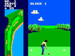 Great Golf (SMS)  © Sega 1987   3/3