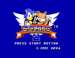 Sonic The Hedgehog 2 (SMS)  © Sega 1992   1/12