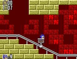 Sonic The Hedgehog 2 (SMS)  © Sega 1992   2/12