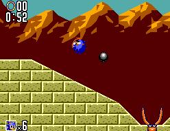 Sonic The Hedgehog 2 (SMS)  © Sega 1992   6/12