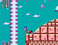 Sonic The Hedgehog 2 (SMS)  © Sega 1992   7/12