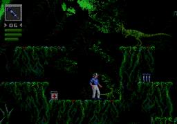 Jurassic Park (BlueSky) (SMD)  © Sega 1993   3/4