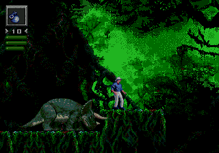 Jurassic Park (BlueSky) (SMD)  © Sega 1993   4/4