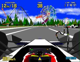 Virtua Racing (ARC)  © Sega 1992   3/6