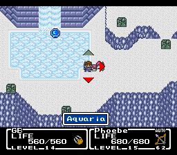 Mystic Quest Legend (SNES)  © Square 1992   2/3