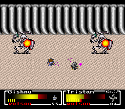 Mystic Quest Legend (SNES)  © Square 1992   3/3