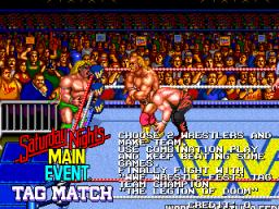 WWF Wrestlefest (ARC)  © Technos 1991   2/5