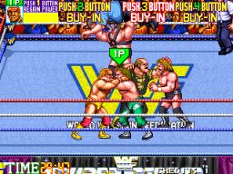 WWF Wrestlefest (ARC)  © Technos 1991   3/5
