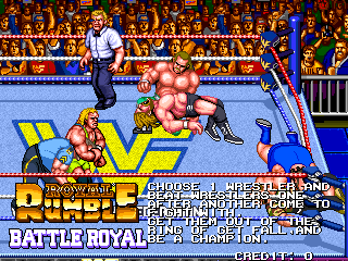 WWF Wrestlefest (ARC)  © Technos 1991   5/5