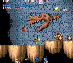 Black Tiger (ARC)   © Capcom 1987    2/5