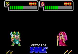 Wonder Boy III: Monster Lair (ARC)  © Sega 1989   10/11