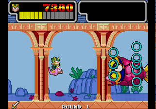 Wonder Boy III: Monster Lair (ARC)  © Sega 1989   7/11