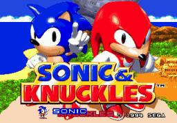Sonic & Knuckles (SMD)  © Sega 1994   1/3