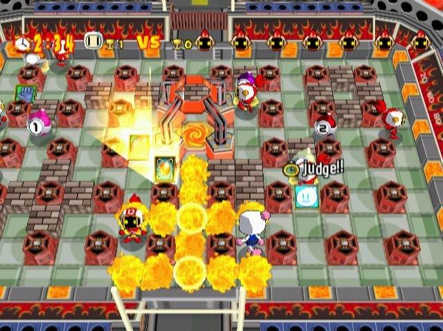 Bomberman Online (DC)  © Hudson 2001   4/6