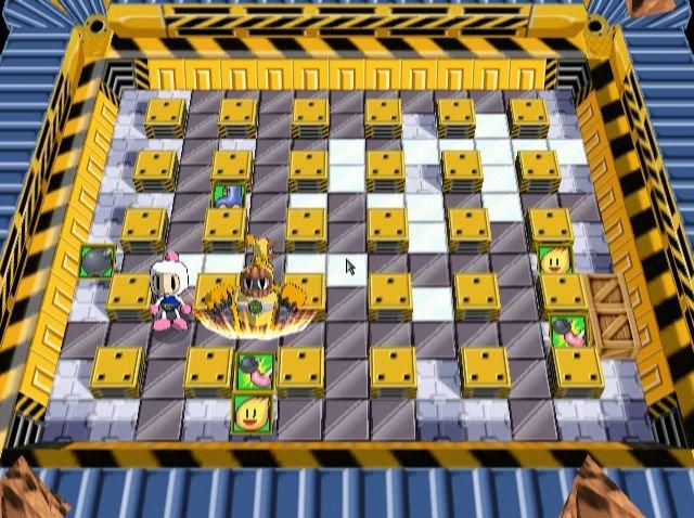 Bomberman Online (DC)  © Hudson 2001   5/6