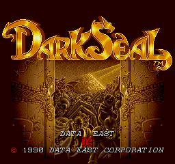 Dark Seal (ARC)  © Data East 1990   1/5