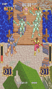 Gaiapolis (ARC)  © Konami 1993   7/7