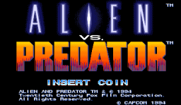 Alien Vs. Predator (1994 Capcom) (ARC)   © Capcom 1994    1/23
