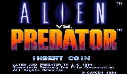 Alien Vs. Predator (1994 Capcom) (ARC)  © Capcom 1994   1/23