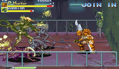 Alien Vs. Predator (1994 Capcom) (ARC)  © Capcom 1994   5/23