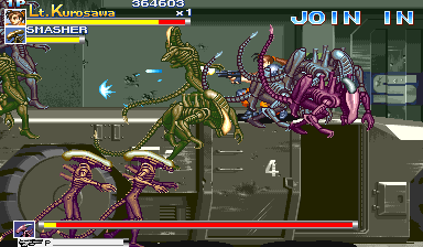 Alien Vs. Predator (1994 Capcom) (ARC)   © Capcom 1994    6/23