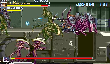 Alien Vs. Predator (1994 Capcom) (ARC)  © Capcom 1994   6/23