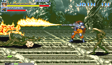 Alien Vs. Predator (1994 Capcom) (ARC)  © Capcom 1994   7/23